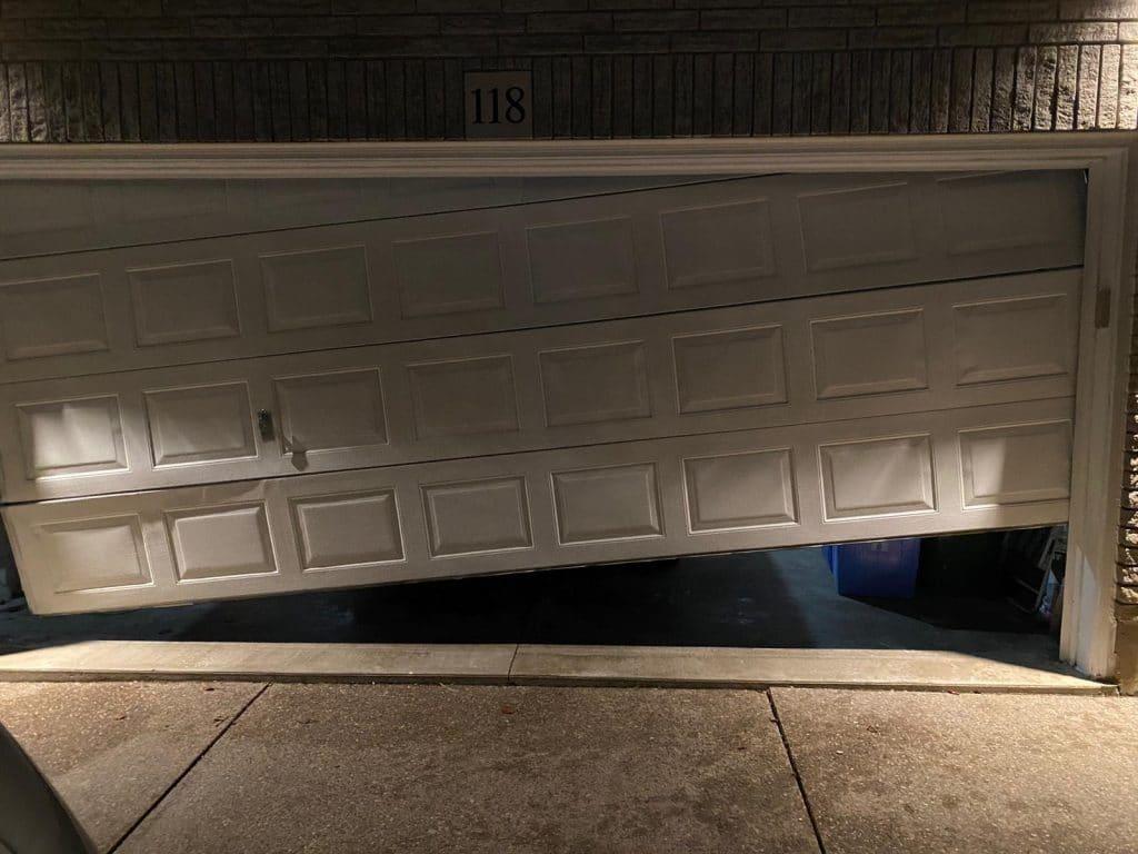 broken garage door toronto